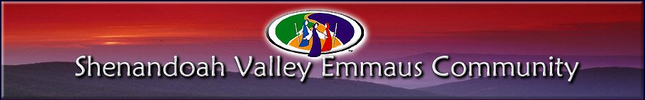 Shenandoah Valley Emmaus Community
